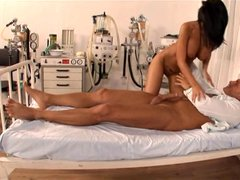 Black Angelica - Nurse taking care of her patient