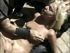 Gladiator's fight in gangbang and double anal