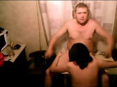 Russian WEBCAM couple