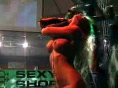 Luna Stern - striptease 2005
