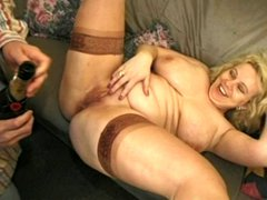 British BBW gets Fucked in the Ass and takes a Few Facials