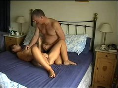 mature couple steady cam