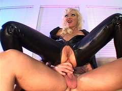 Blonde goes rogue with cocks and toys