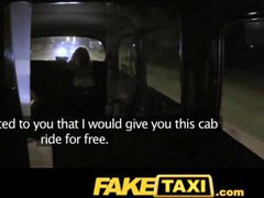 FakeTaxi Mature blonde hungry for late night cock