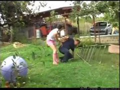 Pigtailed Teen Petra Gets Plowed By Old Man teen...