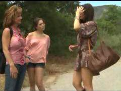 Deauxma get lesbians sex with horny native