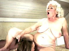 Old-young sex between Vicky Braun and Norma is always something interesting to watch, this old but