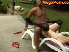 Hot Red Outdoor Interracial Anal Fuck...MegaPorn.cc