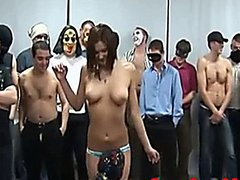 The Cummiest Creampie Gangbang of All Time