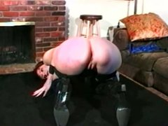 Dancing slave whipped and fingered