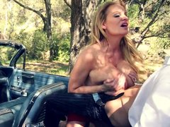 Busty milf kelly madison oiled up and fucked