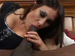 Sultry milf gets her a black cock