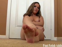 Naughty dommes make you worship their feet