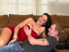 Zoey Holloway and hot guy are horny for each other