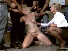 MILF Simone Sonay decides to punish her step-daughter Alice Frost