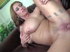 Eva Notty is a horny milf with huge boobs! Foreign
