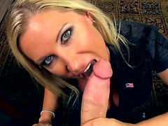 Experienced mature blonde milf Devon Lee