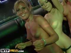 Drunk college girl Kaylee and her friends seduce a stripper.