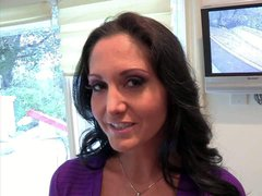 Dark haired european milf Ava Addams is a beautiful woman