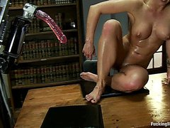 Holly Heart hardly fucked by a group of funny toys