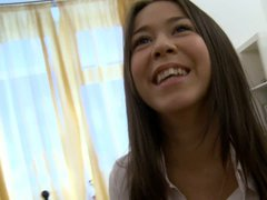 Albina is a barely legal russian amateur girl with dark