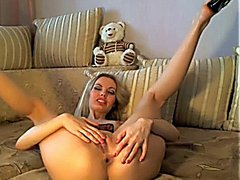 HOT Russian Blonde Masturbating HD