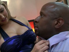 Dayna Vendetta is a beautiful blonde with big breasts that