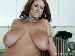 Eva Notty is a horny mom with enormous tits. She