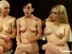 Elise Graves is a slave girl that gets tied up