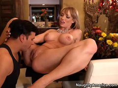 Maya Hills is a sexy big titted woman that has