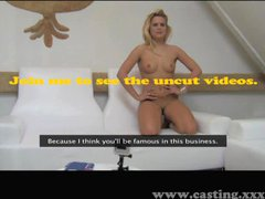 Casting - Anal delight for hot blonde
