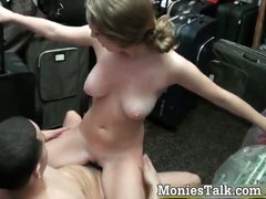 Hot blonde slut gets pounded hard part5