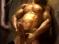 3D Muscled Gay Males!