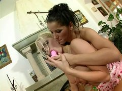 Lesbian hotties in hot action