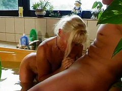 Horny German mother fucked by this two sons