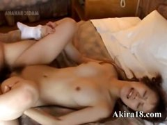 Asian and her extreme vagina