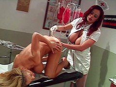Enema training in the hospital