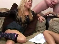 Two mature skanks enjoy jerking dudes