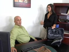 Hot MILF Mikayla Mendex Office Sex