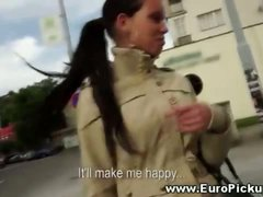 Euro amateur gets pulled in the street