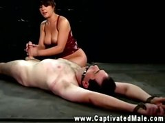 She really loves her role as domina and he makes it fun