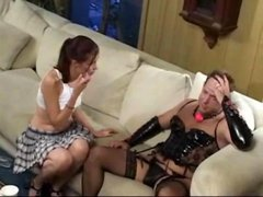 Pretty anal fucked by a crossdresser