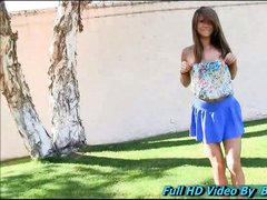 Mali teen gorgeous is having her very first experience in adult with FTV