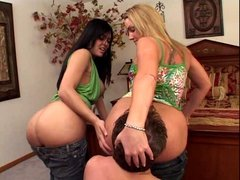 Best Ever Ass Worship to Two Hot Girls