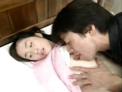 Pretty tender chick gets her Japanese cunt poked by a cock