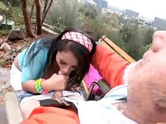 Pepper Foxxx - Old Homeless Wheelchair BJ