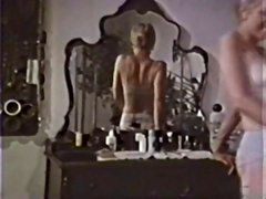 Vintage hardcore with mature Aunt Peg getting her hairy pussy fucked and cum covered