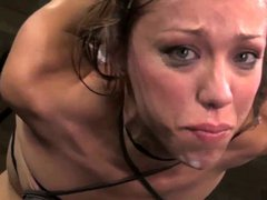 Horny pornstars humiliated, slaved and tortured