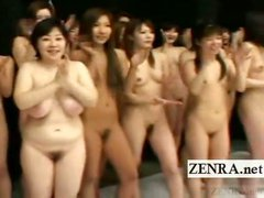Subtitle Japan women nudist group red light green light