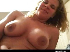Cheating MILF caught on tape